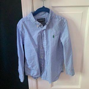 Ralph Lauren kids button down shirt sz 5